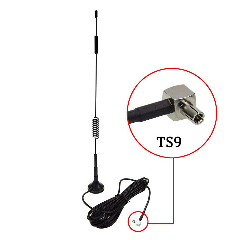 LTE CPRS GSM Omni 4G Booster Antenna 8dbi Black With Magnetic Stand Base