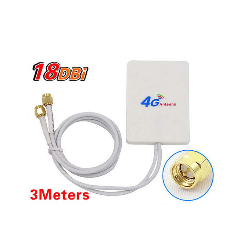 Wifi 4G Antenna High Gain LTE Mimo 50W Vertical Polarization Type Light Weight